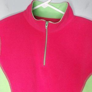 LL Bean 1/4 Zip Pullover Fleece Sweater